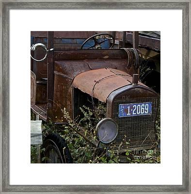 Old Car Framed Print by Anthony Jones
