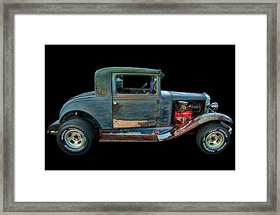 1930 Chevy Coupe Framed Print by Lori Hutchison