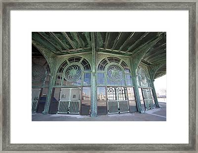 Old Carousel House Framed Print by Mary Haber
