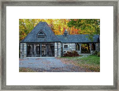 Old Carriage House 1 Framed Print