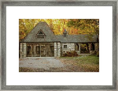 Old Carriage House 2 Framed Print