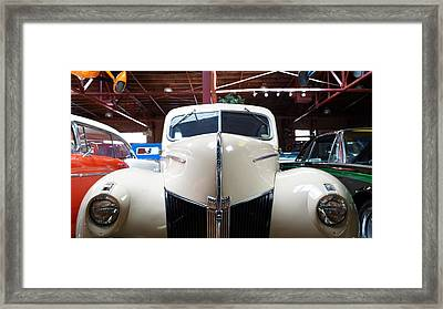 Old Cars #8 Framed Print by Keegan Hall
