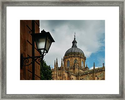 Old Cathedral, Salamanca, Spain  Framed Print