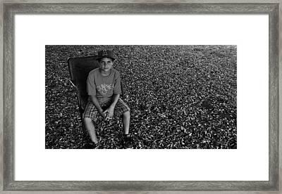 Old Chair Framed Print by Bransen Devey