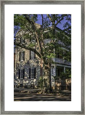 Old Charleston V Framed Print