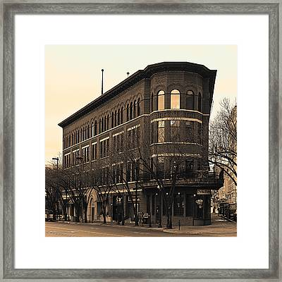 Old Chattanooga Framed Print