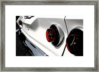Old Chevy Framed Print by Cabral Stock