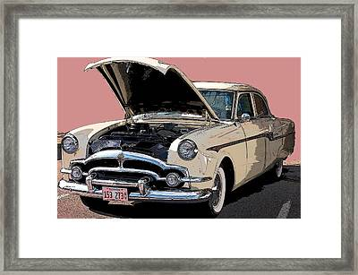 Old Chevy Framed Print by Robert Meanor