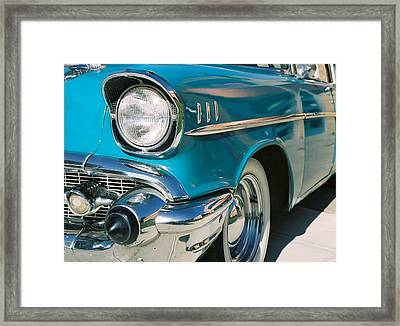 Framed Print featuring the photograph Old Chevy by Steve Karol