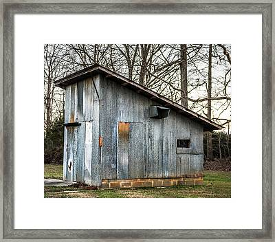 Old Chicken Coup Framed Print