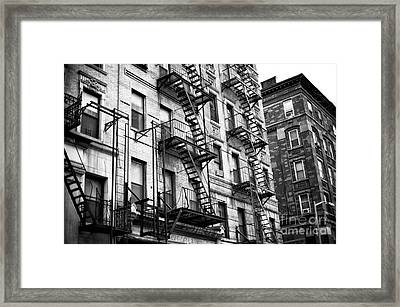 Old Chinatown Living Framed Print by John Rizzuto