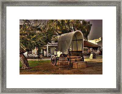 Old Chuck Wagon Framed Print