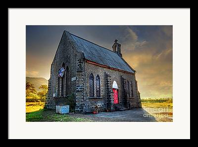 Old Churches Framed Prints