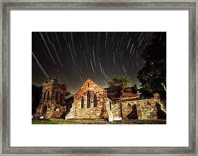 Old Church Framed Print by Edgars Erglis