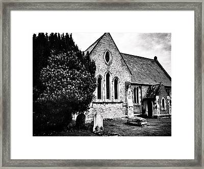 Old Church Framed Print by Andrew Hunter