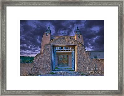 Old Church Framed Print by Jim Wright