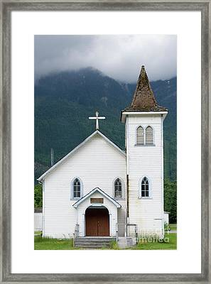 Framed Print featuring the photograph Old Church by Rod Wiens