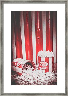 Old Cinema Pop Corn Framed Print by Jorgo Photography - Wall Art Gallery