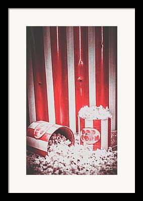 Show Time Framed Prints