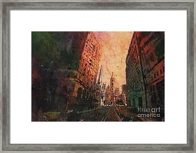 Old City Hall- Philadelphia Framed Print by Ryan Fox