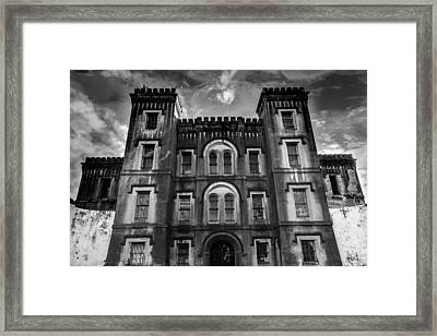 Old City Jail Framed Print by Drew Castelhano