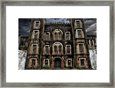 Old City Jail Framed Print