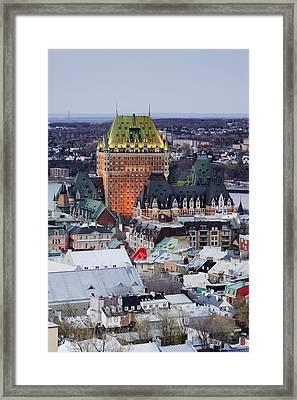 Old City Skyline Framed Print by Jeremy Woodhouse