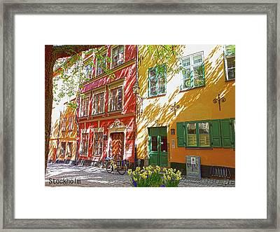 Old City Framed Print
