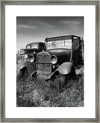 Old Classic Framed Print by Chris Brewington
