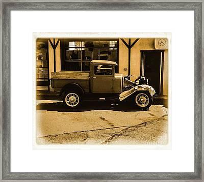 Old Classic Shop Framed Print