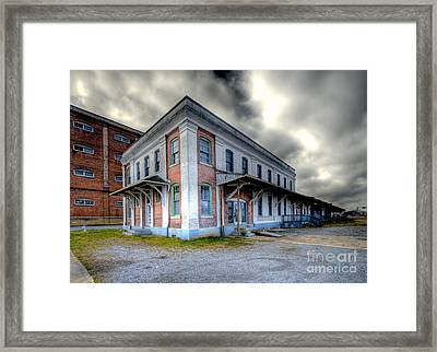 Old Clinchfield Train Station Framed Print