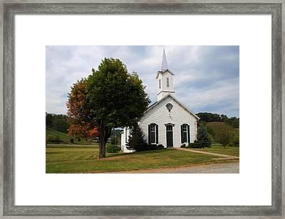 Old Concord Church Framed Print