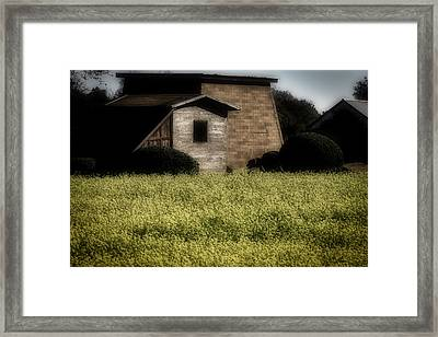 Old Country Buildings Framed Print by Garry Gay