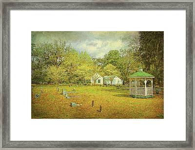 Framed Print featuring the photograph Old Country Church by Lewis Mann