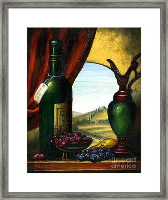 Old Country Feeling II Framed Print by Italian Art