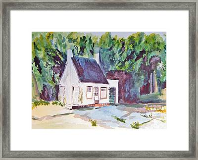 Former Old Country Gas Station Framed Print