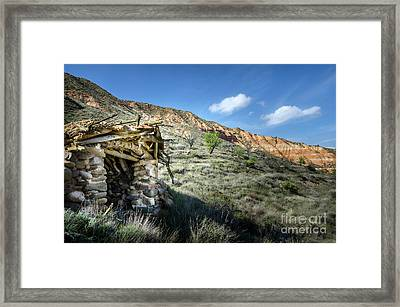 Old Country Hovel Framed Print by RicardMN Photography