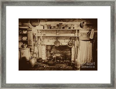 Old Country Kitchen Framed Print by Paul W Faust -  Impressions of Light