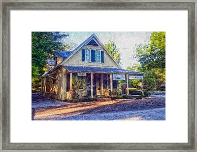 Old Country Store Framed Print by Shane Adams