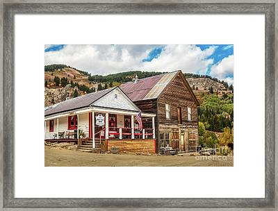 Old Courthouse Framed Print