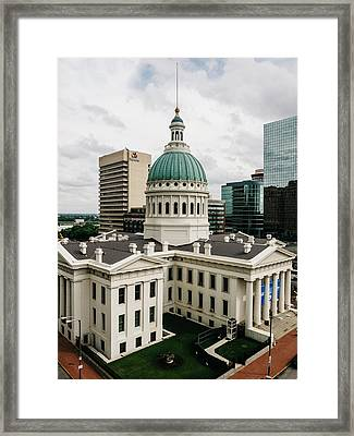Old Courthouse - St. Louis, Mo Framed Print by Dylan Murphy