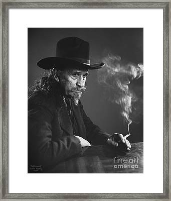Old Cowboy Framed Print