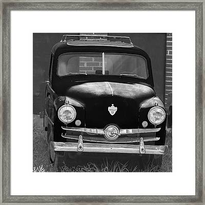 Old Crosley Motor Car Framed Print