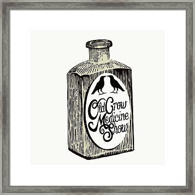 Old Crow Medicine Show Tonic Framed Print