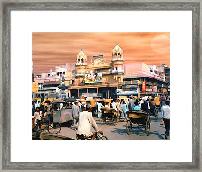 Old Dehli Framed Print