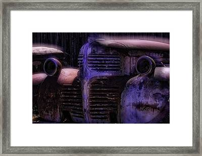 Old Dodge Framed Print by Garry Gay
