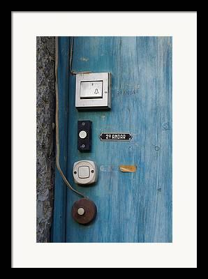 Doorbell Framed Prints