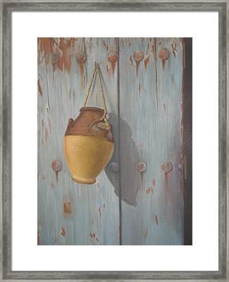 'old Door' Framed Print by Marina Harris