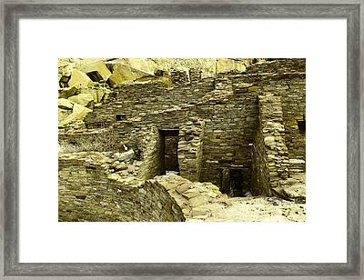 Old Doors And Rooms Framed Print