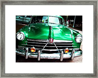Framed Print featuring the photograph Old Dreams In The Neighborhood by MJ Olsen